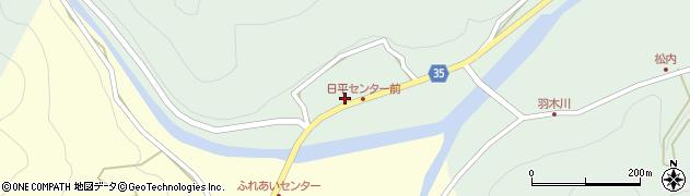 大分県佐伯市本匠大字因尾229周辺の地図