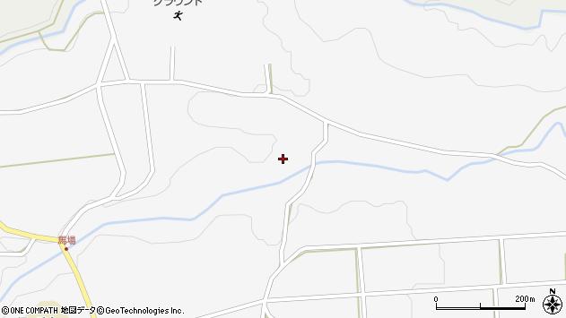 大分県竹田市荻町馬場1041周辺の地図