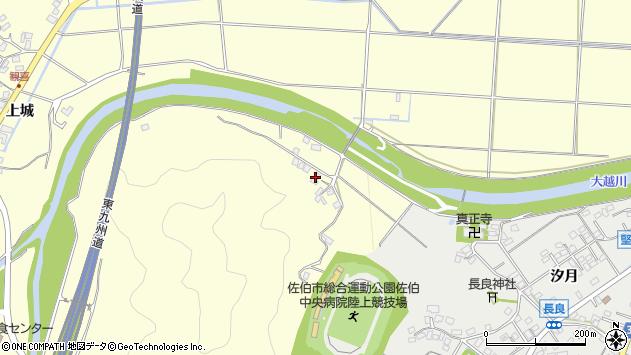 大分県佐伯市長谷7519周辺の地図