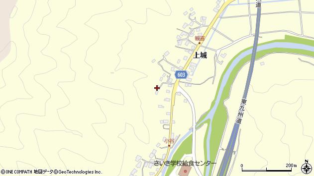 大分県佐伯市長谷5772周辺の地図