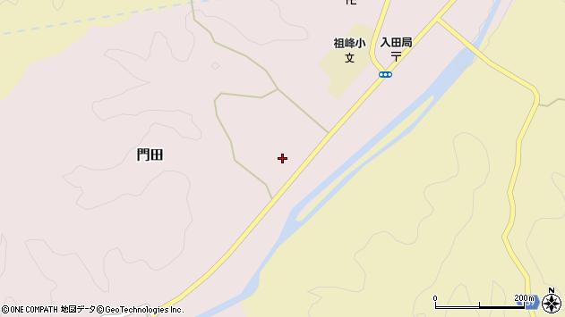 大分県竹田市門田440周辺の地図