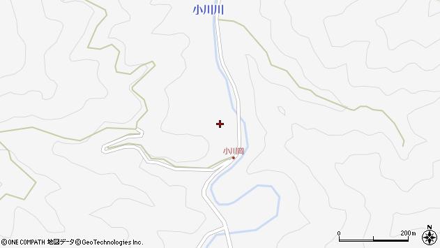 大分県佐伯市本匠大字小川277周辺の地図