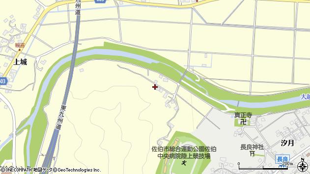 大分県佐伯市長谷7521周辺の地図