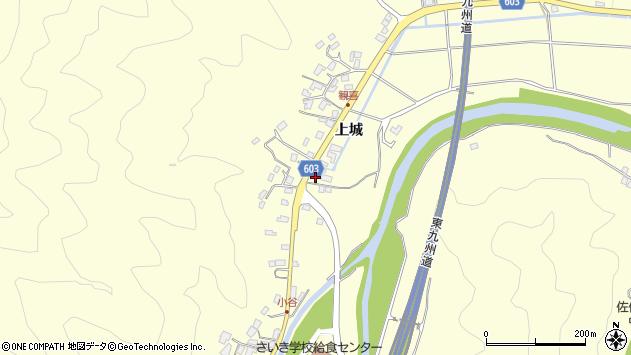 大分県佐伯市長谷5848周辺の地図