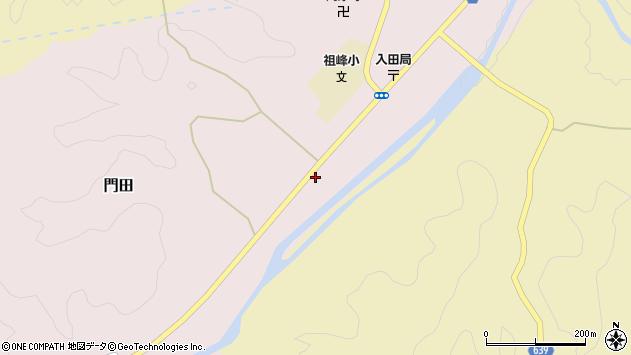 大分県竹田市門田425周辺の地図