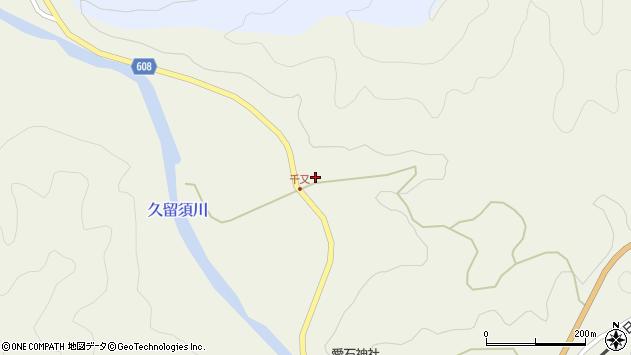 大分県佐伯市直川大字下直見1991周辺の地図
