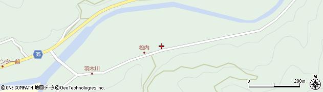 大分県佐伯市本匠大字因尾899周辺の地図