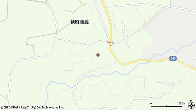大分県竹田市荻町藤渡藤渡周辺の地図