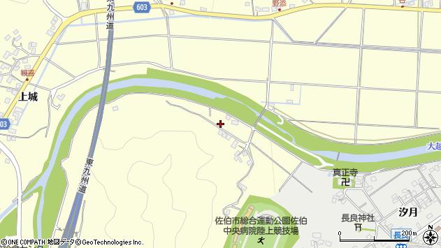 大分県佐伯市長谷7363周辺の地図