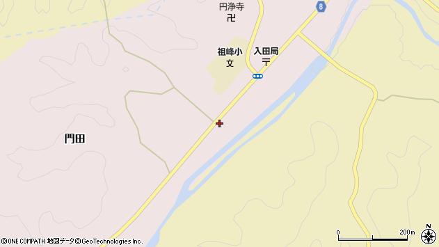 大分県竹田市門田419周辺の地図
