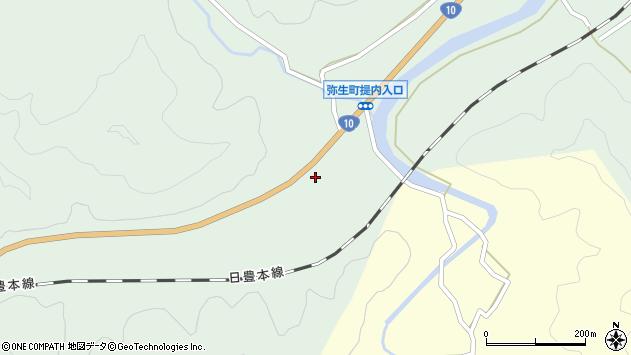 大分県佐伯市弥生大字江良473周辺の地図
