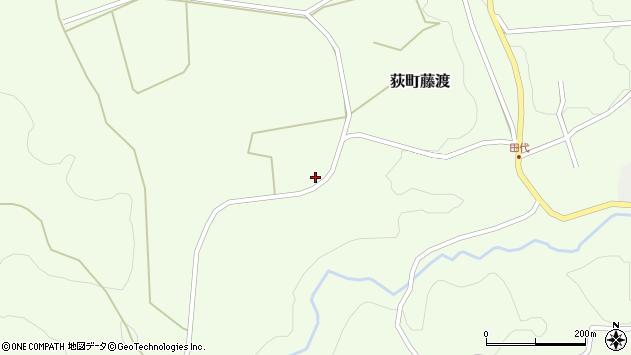 大分県竹田市荻町藤渡326周辺の地図