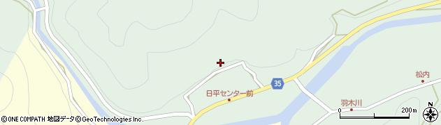 大分県佐伯市本匠大字因尾343周辺の地図