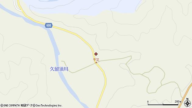 大分県佐伯市直川大字下直見1953周辺の地図