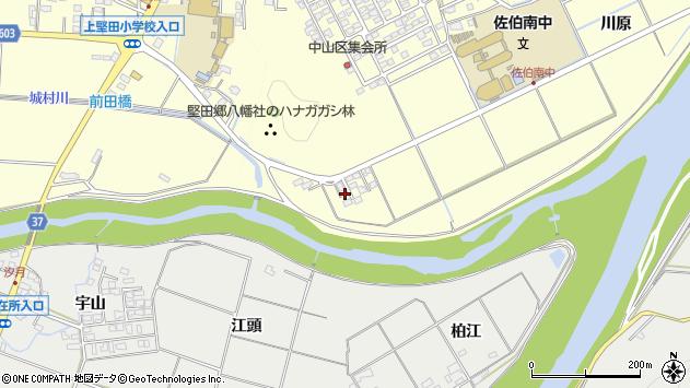 大分県佐伯市長谷9839周辺の地図