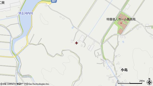 大分県佐伯市長良4423周辺の地図