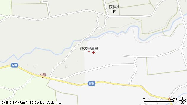 大分県竹田市荻町新藤1131周辺の地図