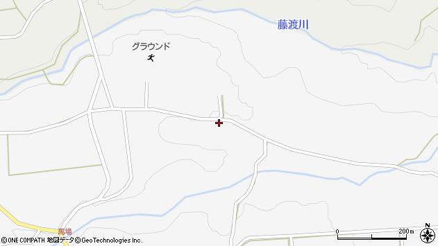 大分県竹田市荻町馬場1077周辺の地図