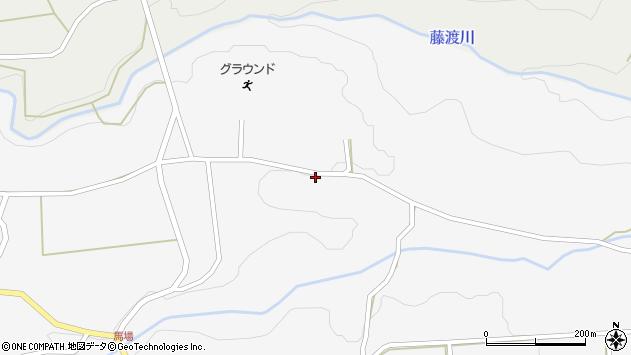 大分県竹田市荻町馬場1078周辺の地図