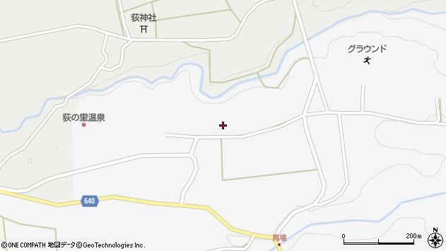 大分県竹田市荻町馬場1234周辺の地図