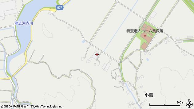 大分県佐伯市長良4917周辺の地図