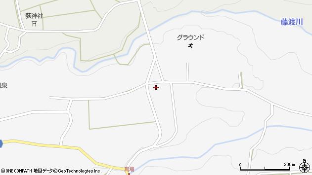 大分県竹田市荻町馬場1190周辺の地図