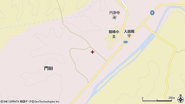 大分県竹田市門田450周辺の地図