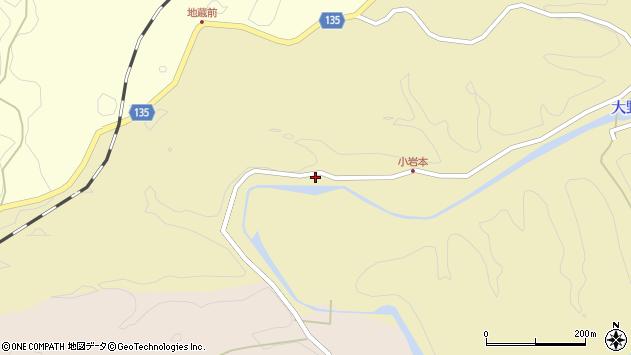 大分県竹田市吉田1113周辺の地図