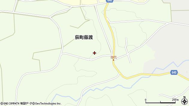 大分県竹田市荻町藤渡301周辺の地図