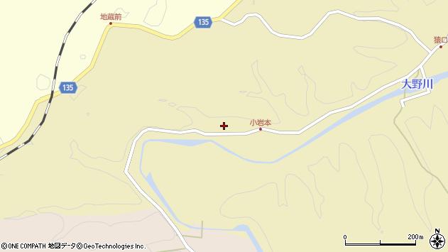 大分県竹田市吉田1065周辺の地図