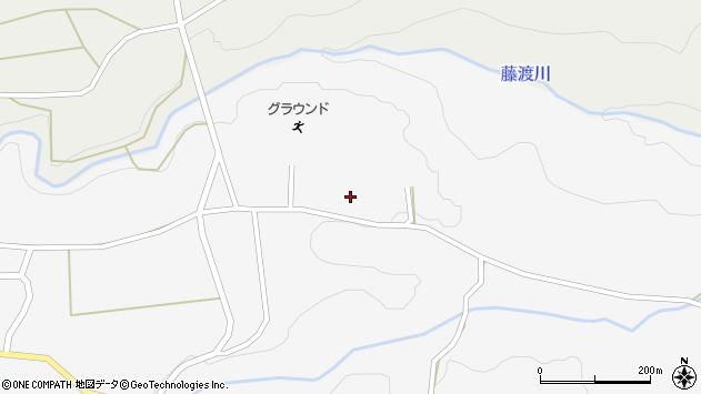 大分県竹田市荻町馬場1321周辺の地図