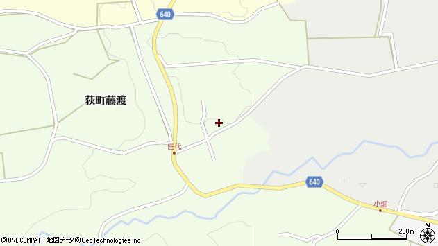 大分県竹田市荻町藤渡481周辺の地図