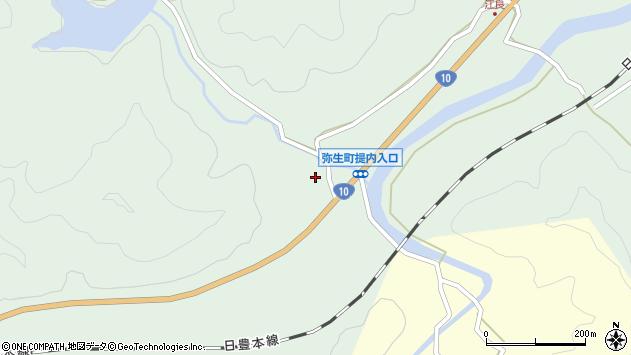 大分県佐伯市弥生大字江良509周辺の地図
