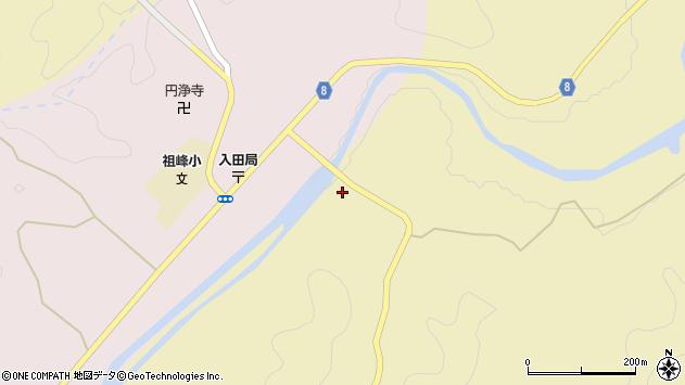 大分県竹田市入田577周辺の地図