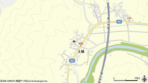大分県佐伯市長谷6243周辺の地図