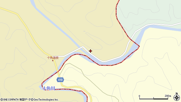 大分県竹田市入田1799周辺の地図