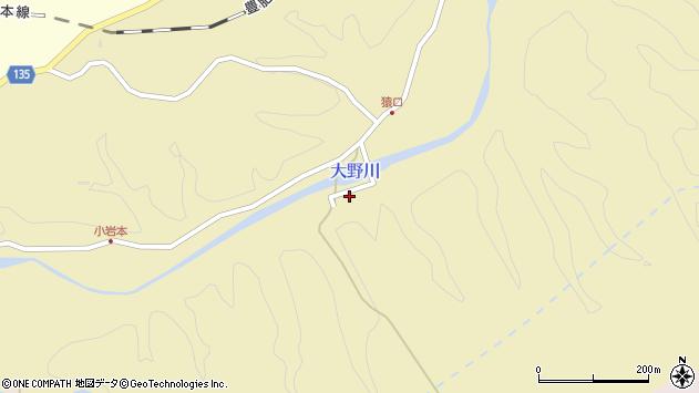 大分県竹田市吉田1225周辺の地図