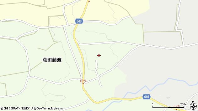大分県竹田市荻町藤渡441周辺の地図