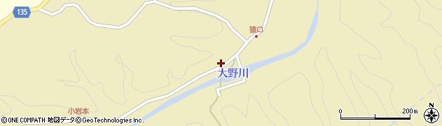 大分県竹田市吉田973周辺の地図
