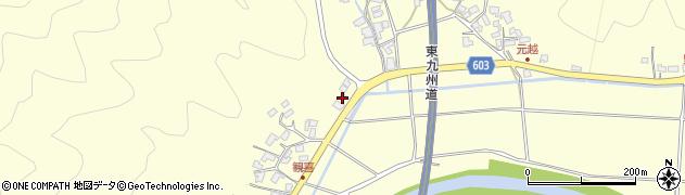 大分県佐伯市長谷6400周辺の地図