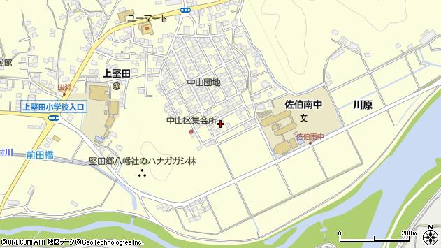 大分県佐伯市長谷9887周辺の地図