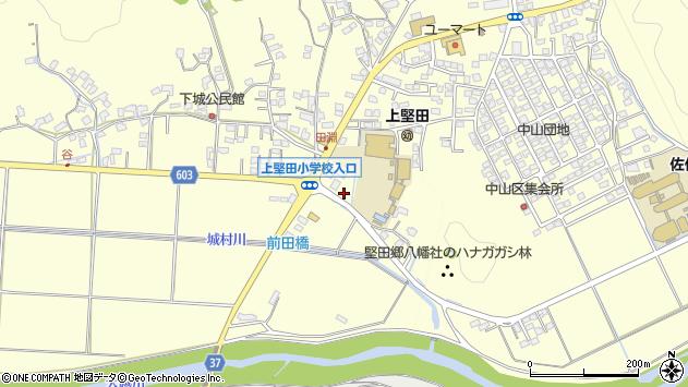 大分県佐伯市長谷7728周辺の地図