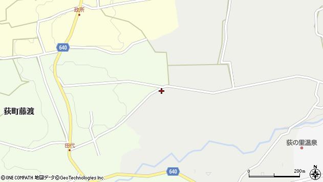 大分県竹田市荻町新藤1279周辺の地図