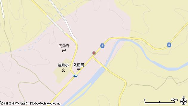 大分県竹田市門田195周辺の地図