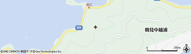 大分県佐伯市鶴見大字中越浦470周辺の地図