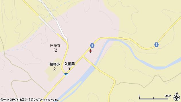 大分県竹田市門田197周辺の地図