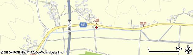 大分県佐伯市長谷6999周辺の地図