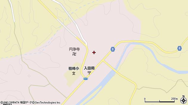 大分県竹田市門田176周辺の地図