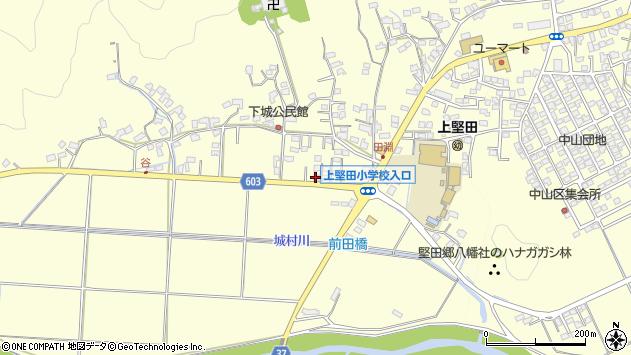 大分県佐伯市長谷7492周辺の地図