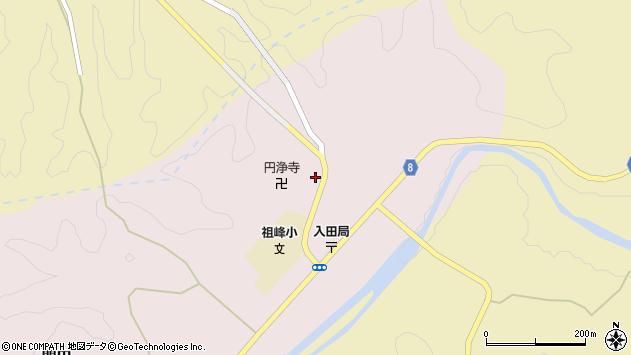 大分県竹田市門田281周辺の地図